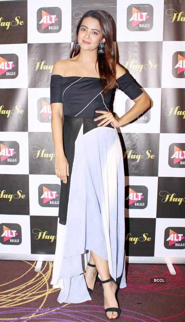Surveen Chawla talks about web series 'Haq Se'