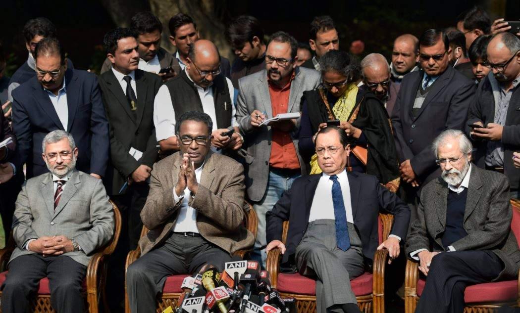 Image result for supreme Court judges against CJI
