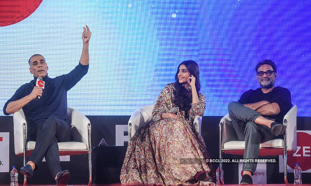 Akshay Kumar, Sonam Kapoor and R Balki
