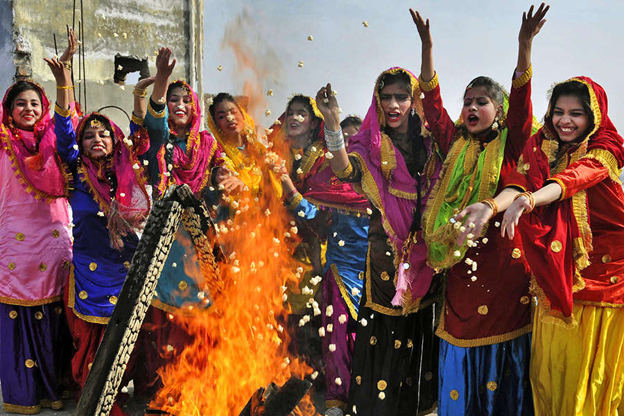Lohri celebrations across India