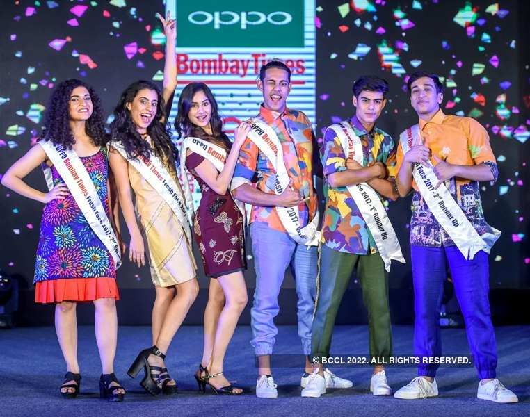 Oppo Bombay Times Freshface 2017: Winners