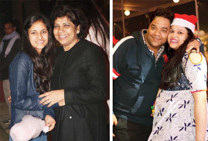 Anju and Somya Pansari (R) Dr Advait and Jyoti  (BCCL/ Unmesh Pandey)