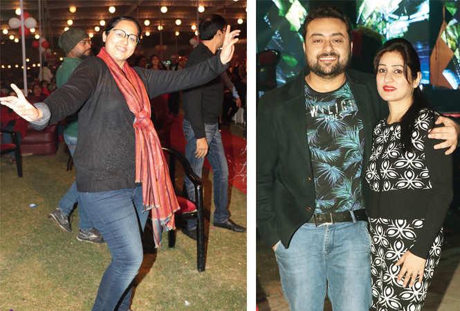 Dr Priya Singh (R) Dr Romesh and Dr Shilpa Soni (BCCL/ Unmesh Pandey)