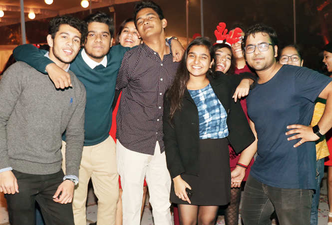 (L-R) Yatharth, Aryuth, Pragyat, Aishanya and Aditya  (BCCL/ Unmesh Pandey)
