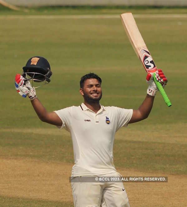 Rishabh Pant's 32-ball century