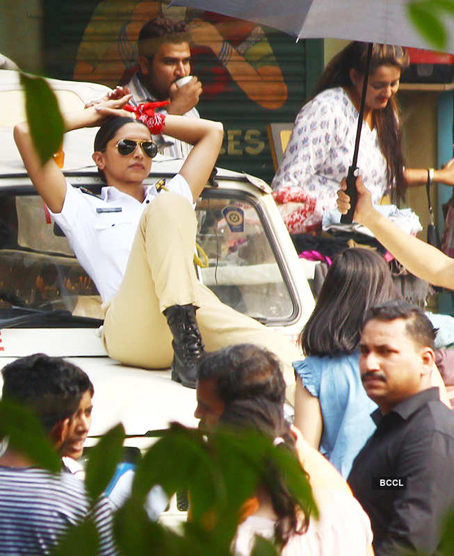 Deepika Padukone nails the cop look!