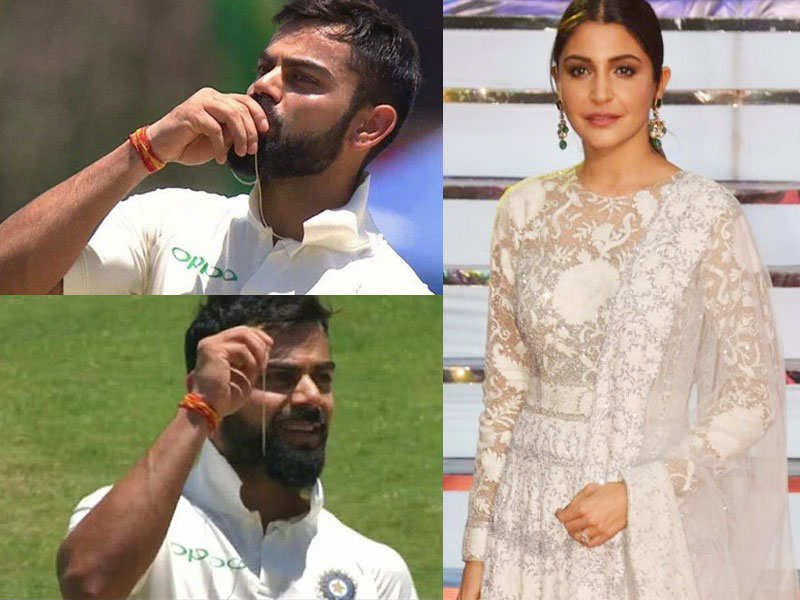 Virat Kohli's adorable gesture for wife Anushka Sharma leaves fans gushing - Anushka Sharma-Virat Kohli relationship  | The Times of India