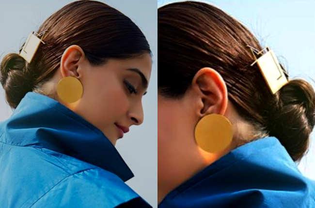 Sonam Kapoor square pin