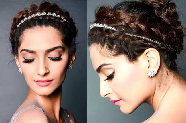 Sonam Kapoor headband