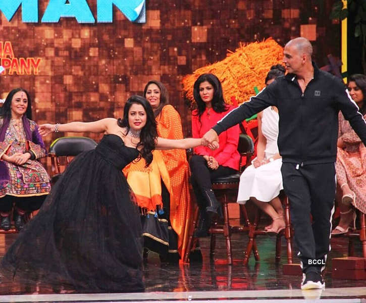 Super Night with PadMan: On the sets