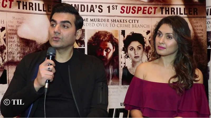 Arbaaz Khan and Manjari Fadnnis get candid about 'Nirdosh'