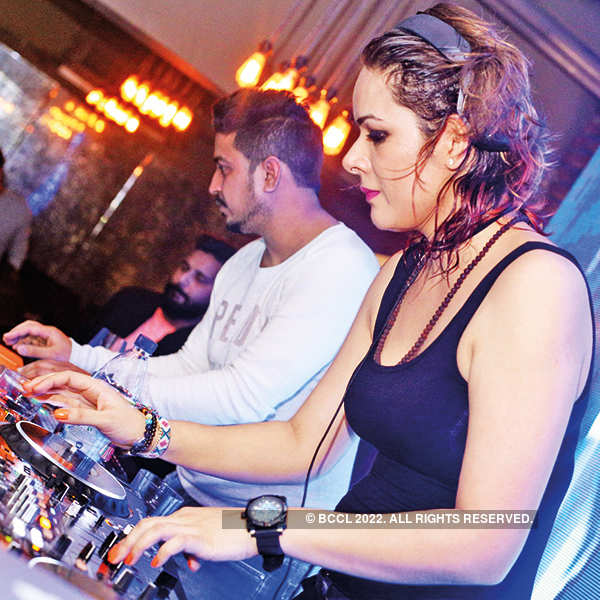 DJ Uditaa Goswami performs at Lord of the Drinks Forum