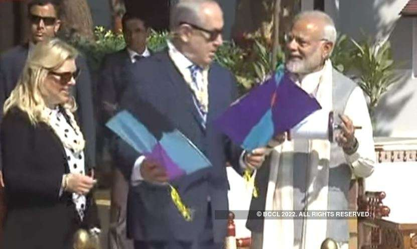 Modi, Netanyahu visit Gujarat