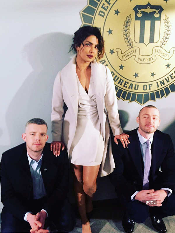 Priyanka Chopra spends quality time with Quantico co-stars