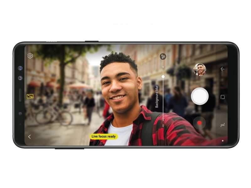 Front camera: Samsung Galaxy A8+ (2018) is the best one for selfie-lovers