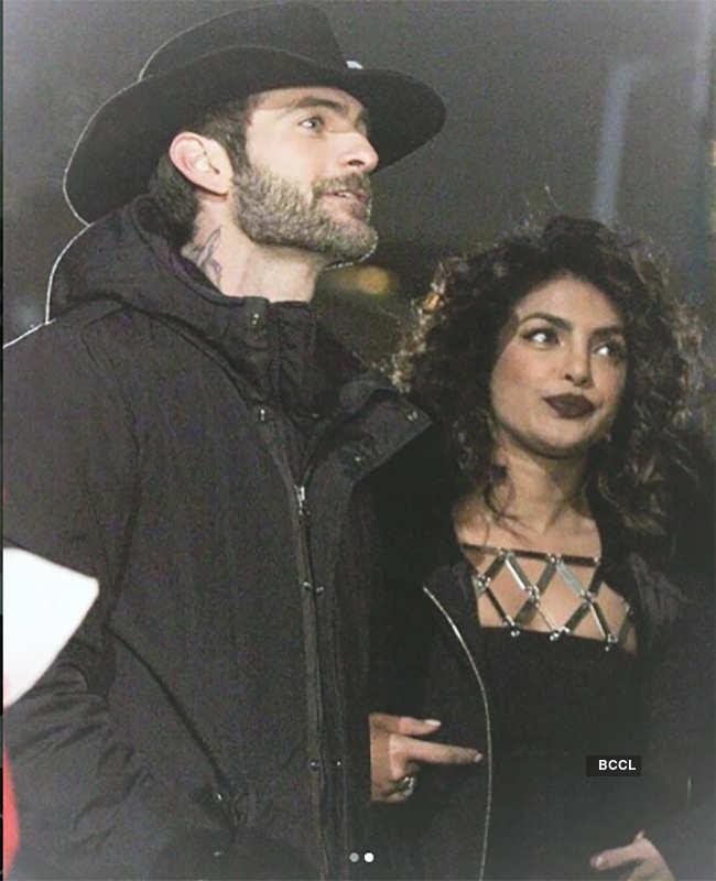 Alan Powell and Priyanka