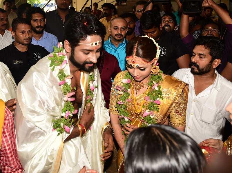 Malayalam Actress Bhavana Wedding pictures