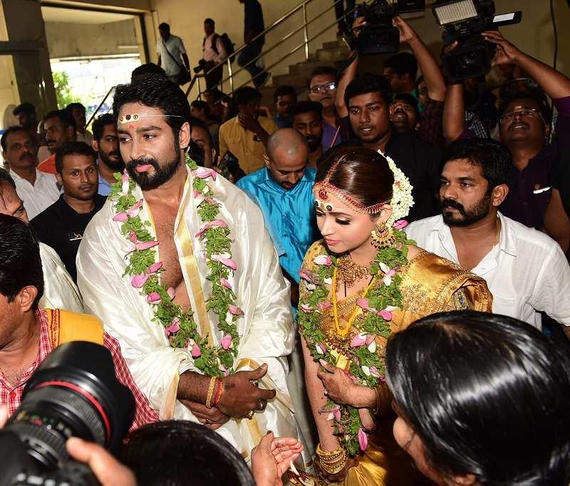 Malayalam Actress Bhavana Marriage Photos