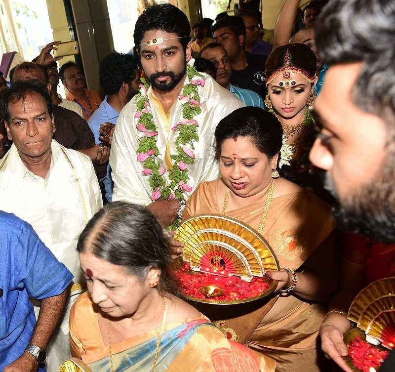 Actress Bhavana Marriage Photos