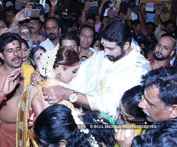 Malayalam actress Bhavana ties the knot with Naveen