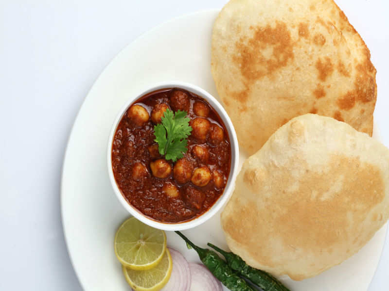 I had chole bhature as my breakfast for 5 days and here's