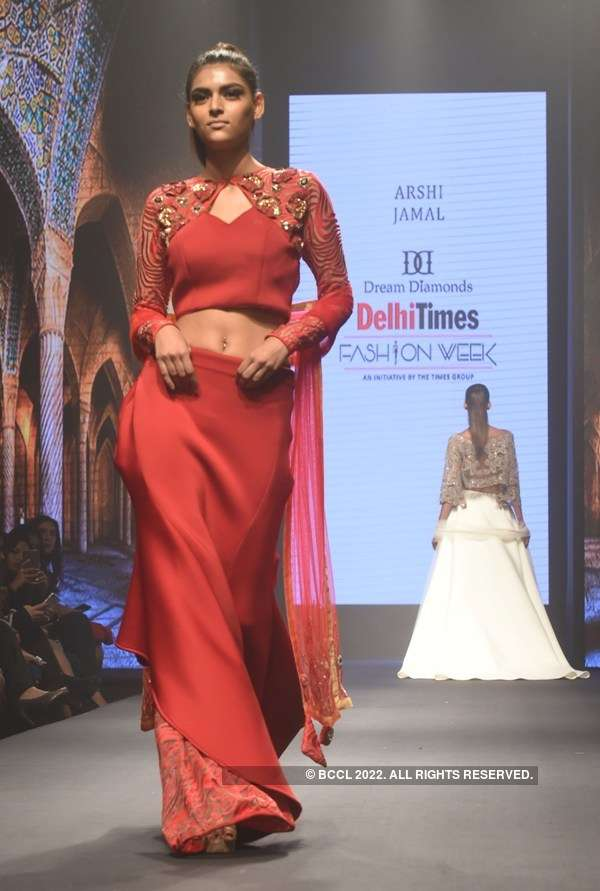 Delhi Times Fashion Week 2018: Arshi Jamal