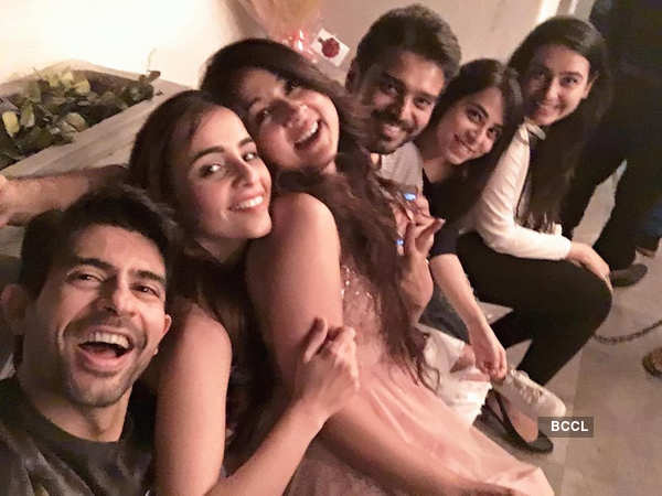 Keerti Kelkar celebrates her birthday with BFFs