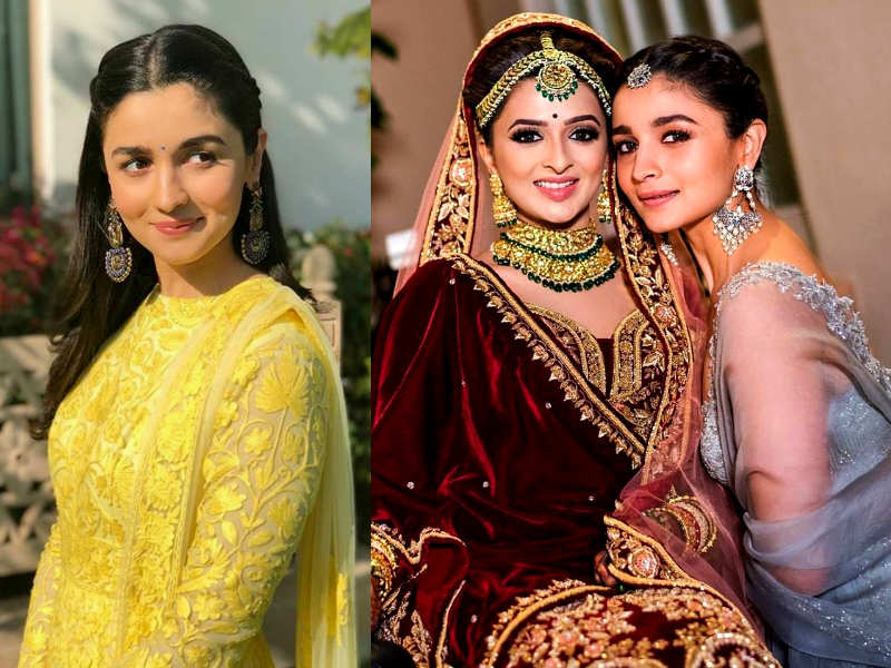 Bhatt is the prettiest bridesmaid heres proof alia bhatt turns bridesmaid steal her style for your bffs wedding thecheapjerseys Gallery