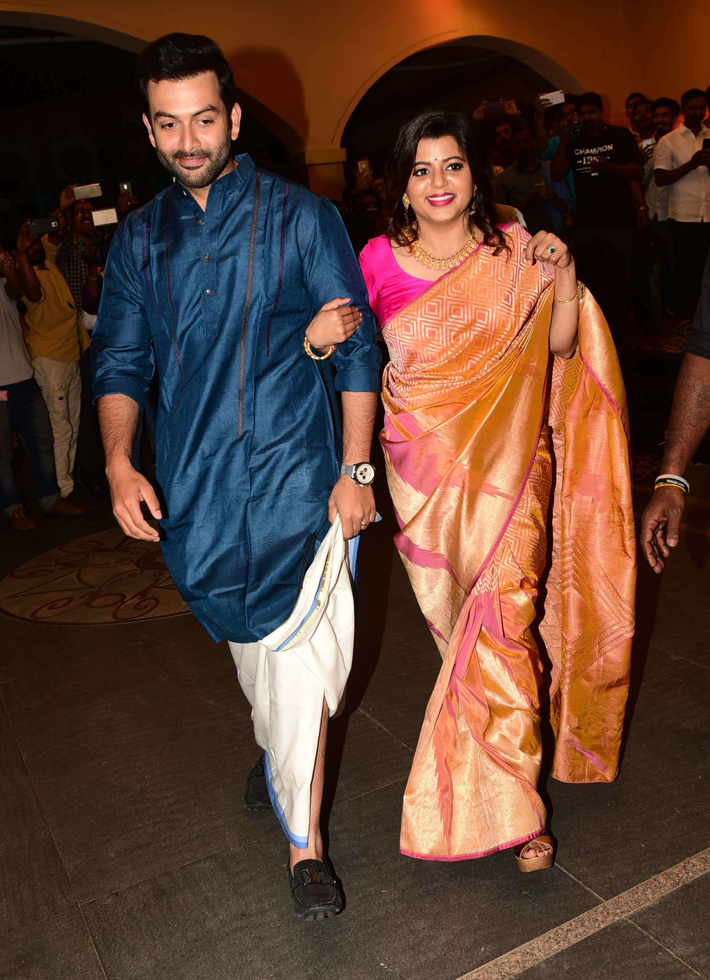 Bhavana Marriage reception picture