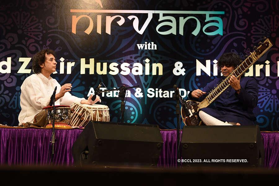 Zakir Hussain and Niladari Kumar live in concert