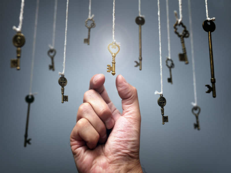 choose a key to reveal your personality