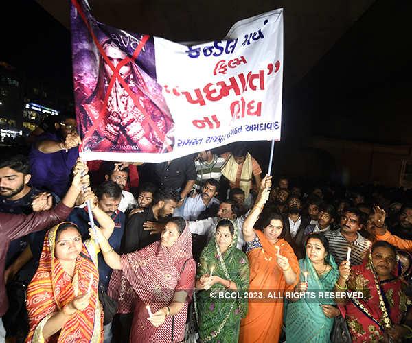 Protest against Padmaavat