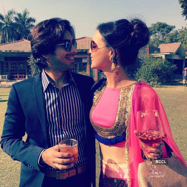 Sanaya Irani's romantic getaway with hubby Mohit Sehgal