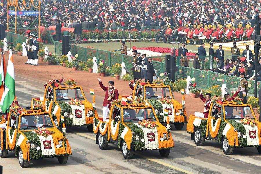 Best photos from India's 69th Republic Day celebrations