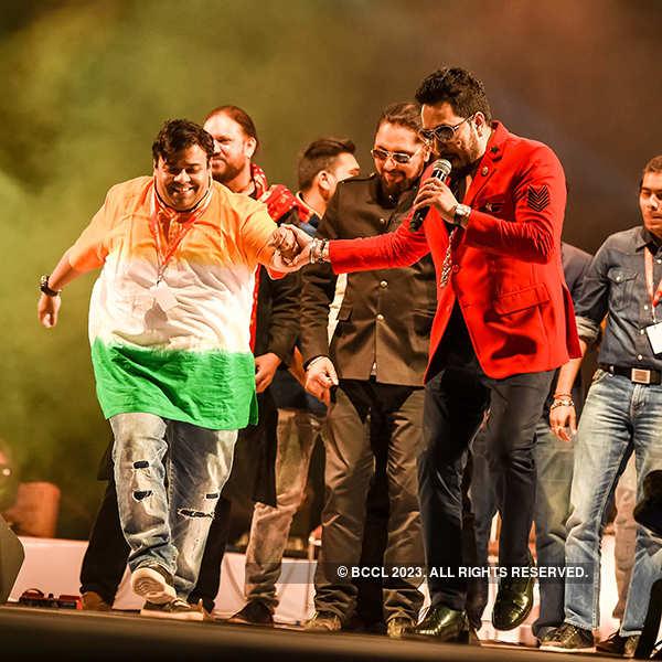 Mika performs at The Mumbai Fest