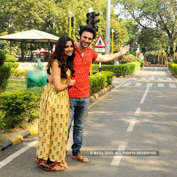 TV actors Jiyaa Shankar and Karan Suchak's exclusive photoshoot