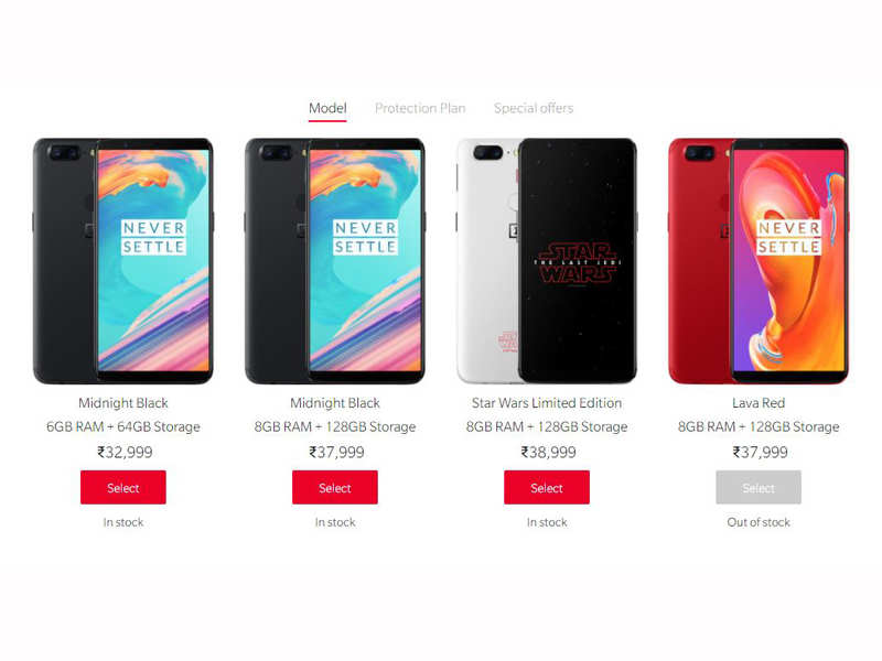 d7a3b0c6d4 ... the Lava Red edition -- to the OnePlus 5T model seems to have appealed  to many as the handset has gone out-of-stock on both Amazon India website  as ...