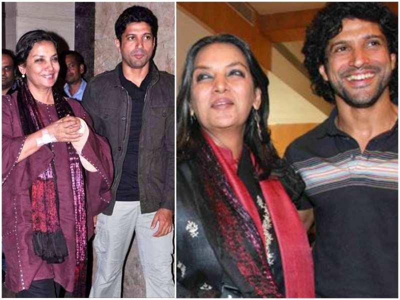 Shabana Azmi- Farhan and Zoya Akhtar