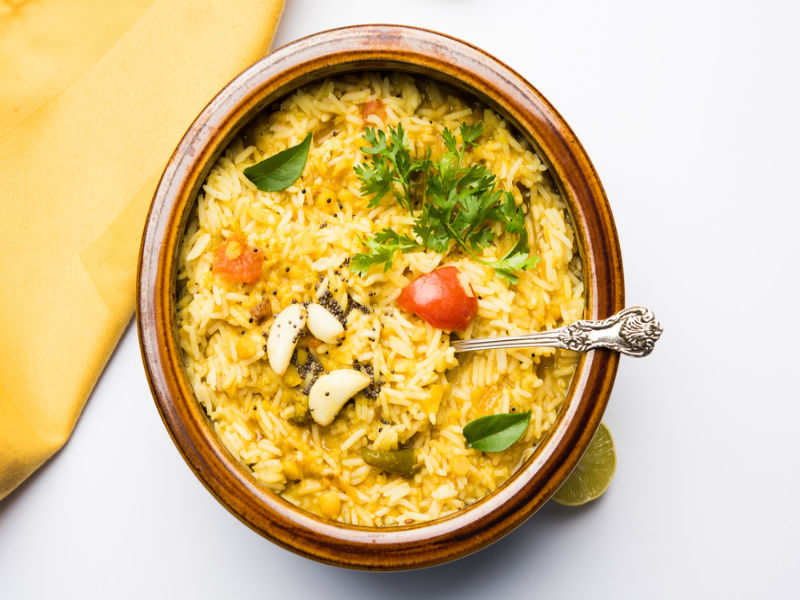 DAL CHAWAL for dinner is great for WEIGHT LOSS! | The Times of India
