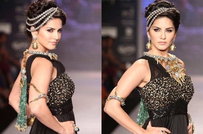 Sunny Leone in royal looks