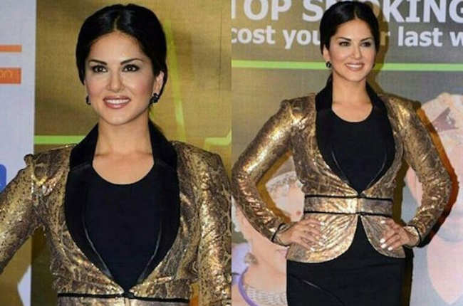 sunny leone well-dressed pic