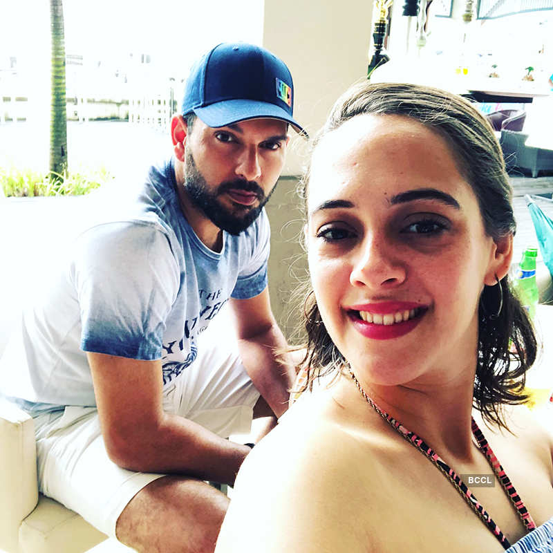 Pictures of Indian cricketers and their gorgeous better halves