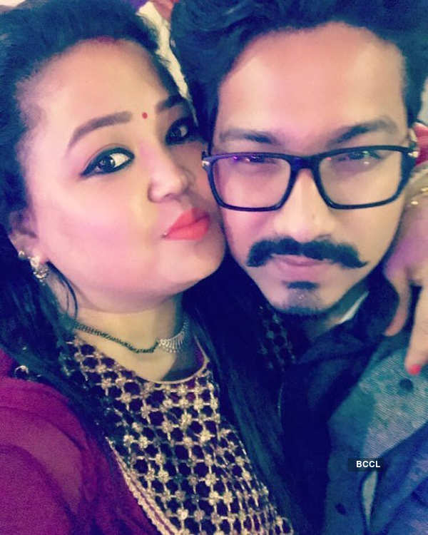 Bharti shares a sweet birthday message for hubby