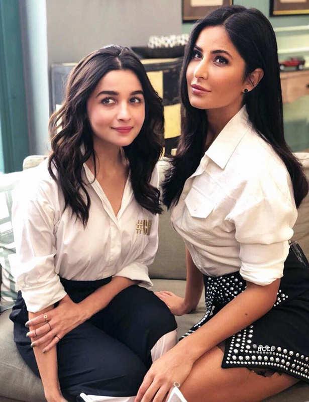 Alia Bhatt advises BFF Katrina Kaif to focus on men!