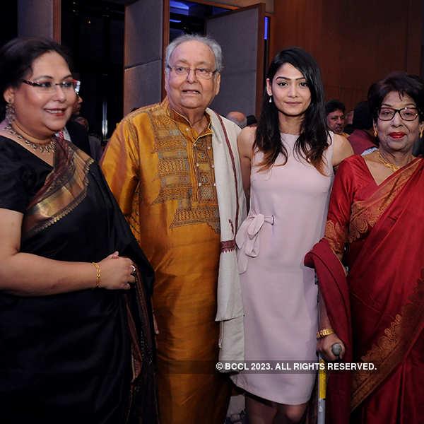 Soumitra Chatterjee receives Chevalier de la Légion d'honneur