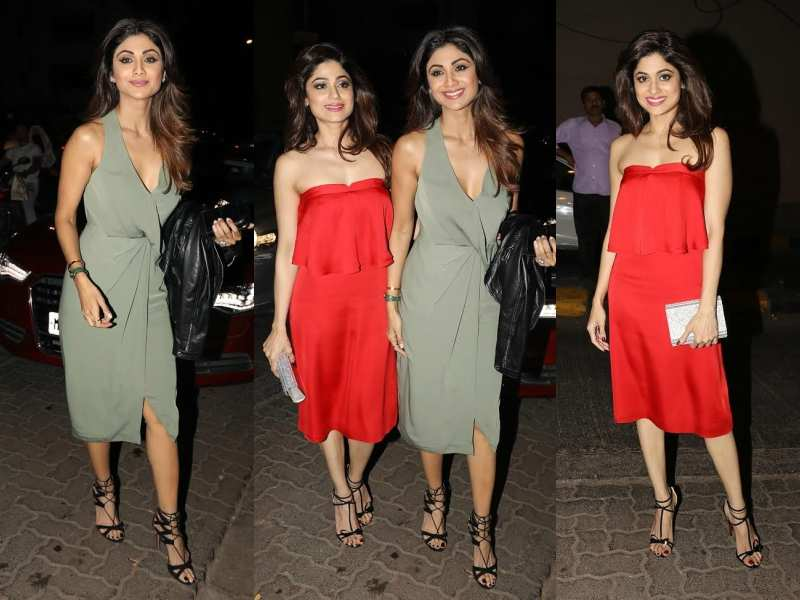 Shamita Shetty Rings In Her Birthday In Style With Sister Shilpa Shetty And Friends