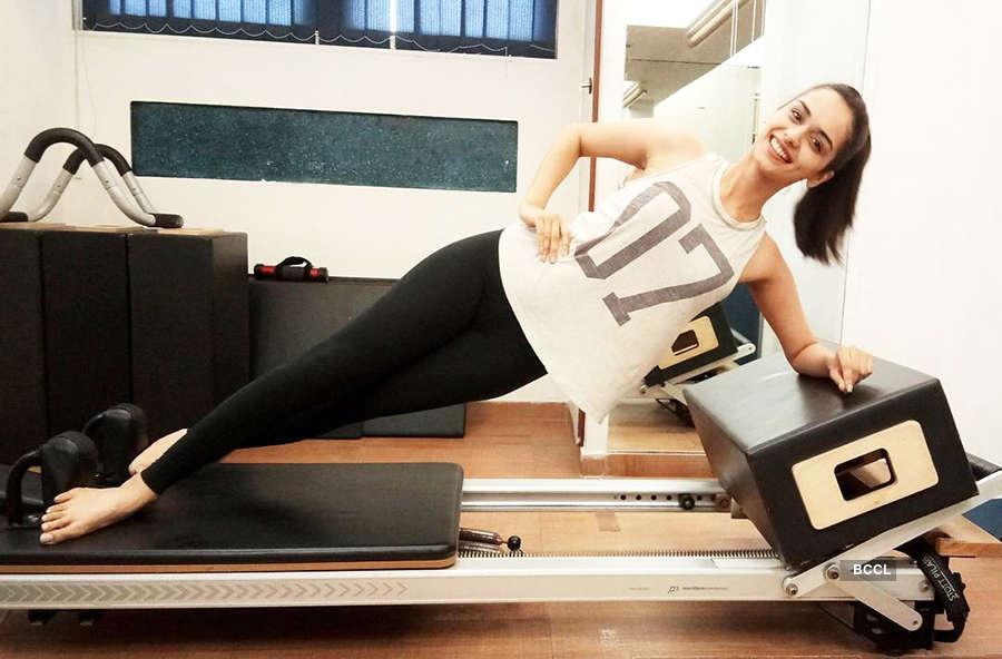 Manushi's workout regime