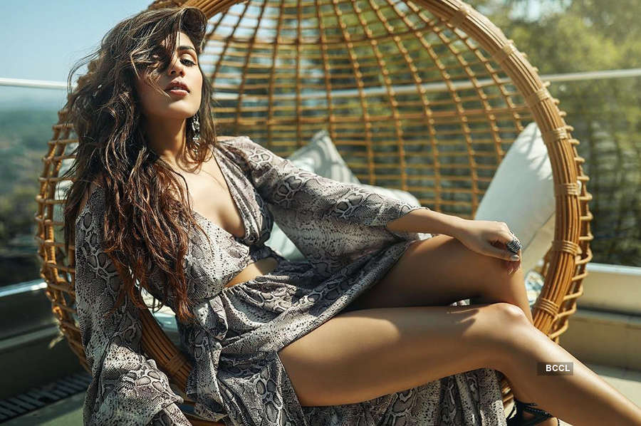 Rhea Chakraborty makes heads turn with her bold photoshoot