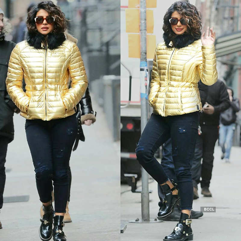 Priyanka's new look