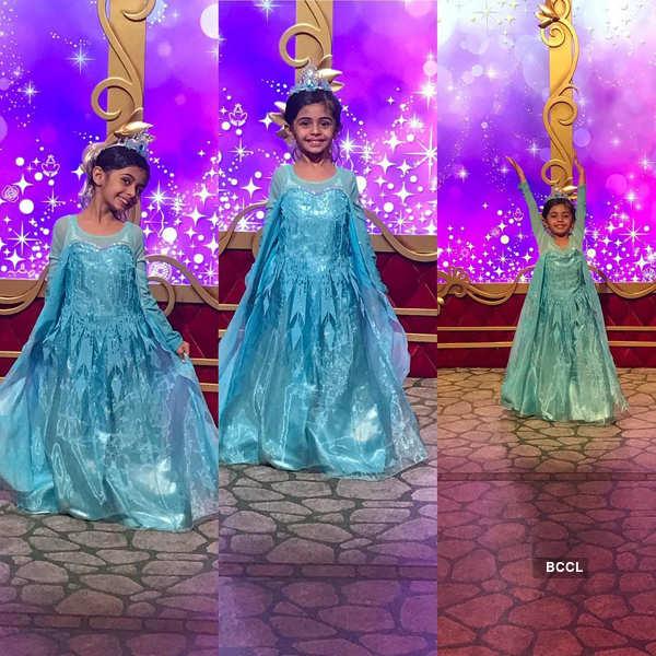 Juhi Parmar celebrated her daughter's birthday in Disneyland